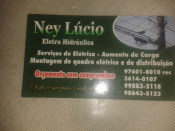 Ney Lucio da Silva Pinheiro -eletricista Residencial