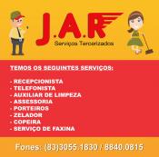 J.A.R. Administração de condomínios e terceirização de Mão de obra.